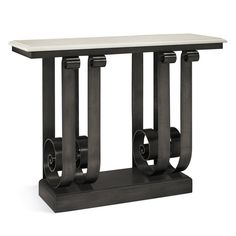 Cannes Iron Console Table