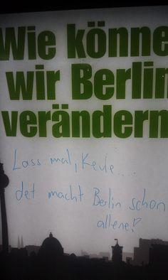 Wie können wir Berlin verändern?