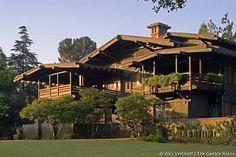 Gamble House / Greene and Greene (designed 1908) Pasadena CA #ThrowbackThursday www.gamblehouse.org