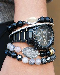 Ode to Geode Stretch Bracelet | Jewelry by Silpada Designs