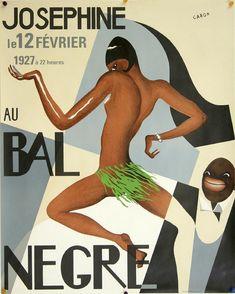 Josephine Au Bal Negre - 1927 - Her Parisian Breakthrough Show Poster