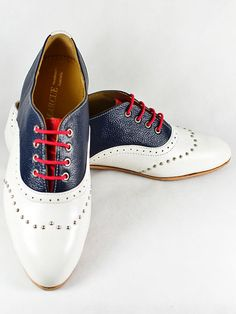 MARCUE   Womens  Handmade Leather Shoes  Tricolour by MARCUEshoes, $310.00