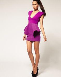 fashion, mini dresses, claudia structur, charm dress, minis, peplum mini, aqua, structur peplum, peplum dresses