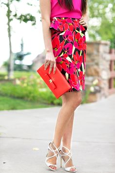 #dresscolorfully pink peonies sharing a summer wedding look