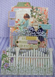 Step Card- Secret Garden