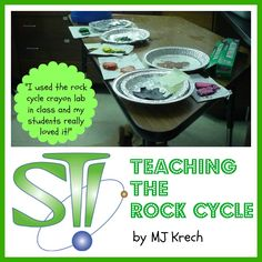 Teaching the Rock Cycle  A Complete Teaching Program   by MJ Krech