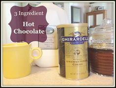 Whole Milk Homemade Hot Chocolate Recipe