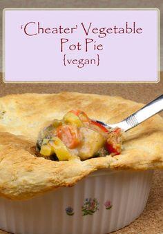 Vegan Vegetable Pot Pie