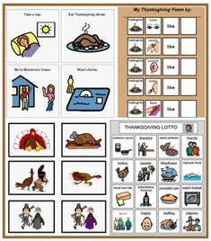 Thanksgiving Speech Games and Activities at Speaking of Speech - Pinned by @PediaStaff - @.  Visit http://ht.ly/63sNt for all our pediatric therapy pins