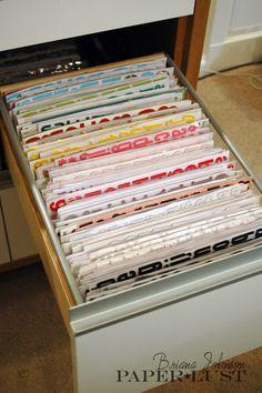 Paper Lust: My Scrapbook Room