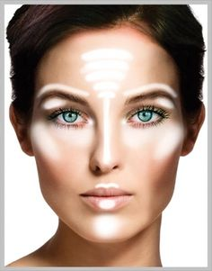 Where to apply highlighter, this is important so many miss this step.