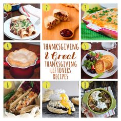 8 Great Thanksgiving Leftovers Recipes