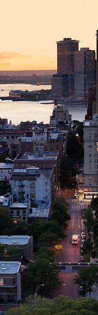 Clark Street from Cadman Plaza, Brooklyn, NY