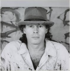 robert mapplethorpe(1946-89), brice marden, 1986. photograph on paper, 47.6 x 47.1 cm. tate gallery, london, uk  http://www.tate.org.uk/art/artworks/mapplethorpe-brice-marden-ar00146