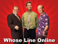 Watch Whose Line is it Anyway Online: Every episode ever. All in one place. My heart is happy.