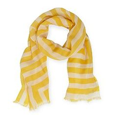 Sailor Striped Yellow Scarf