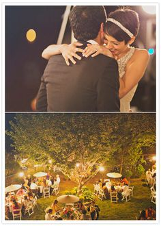 New York backyard wedding: Kali + Hansel | Real Weddings | 100 Layer Cake