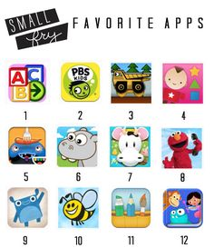 Apps for the little ones