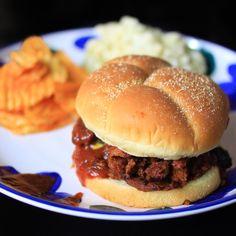 "Barbecue ""Pulled"" Seitan #MeatlessMonday"