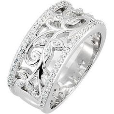Diamond Anniversary Band     68014 / 14K White / 3/8CTTW, SI2-3, GH / Polished / ANNIVERSARY BAND  Item #: 68014:104:P