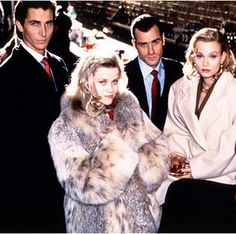 American Psycho (Christian Bale, Reese Witherspoon, Justin Theroux, Samantha Mathis)