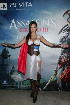 Jessica  Assassin Creed III Cosplay Gallery For The Best Price On Games multicitygames Assassin's Creed III