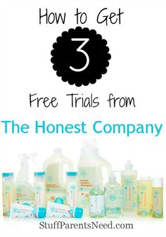 This is the deal that got me to finally pull the trigger and try The Honest Company. How I got all 3 of their trials FREE!