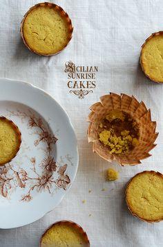 Sicilian Sunrise Cakes #recipes #breakfast #dessert