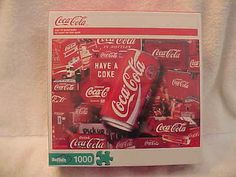 "Coca-Cola 1000 Piece Puzzle ""Sign Of Good Taste"""