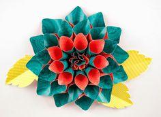 paper flowers, larg paper