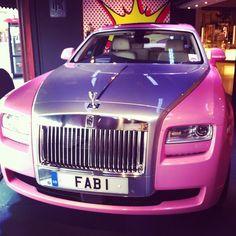 """""""Fabulous"""" Pink Rolls Royce!!"""