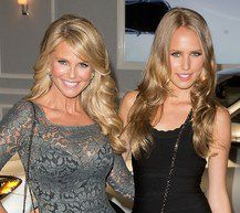 IMG Models signs both Christie Brinkley and daughter Sailor.