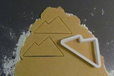 Sugar Cookie Cutter Forms: Michigan's Upper Peninsula, Snow Boarder, Alpine Mountain, Hat, Mitten, Snow Flake