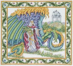 """Teresa Wentzler """"Princess and the Dragon"""""""