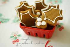 Bake at 350: Simple Decorated Gingerbread Cookies