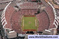 Williams-Brice Stadium (Columbia, SC)   SEC  University of South Carolina  (I posted 'this' even though I bleed Tn Orange!) lol!