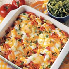 BLT Breakfast Egg Bake