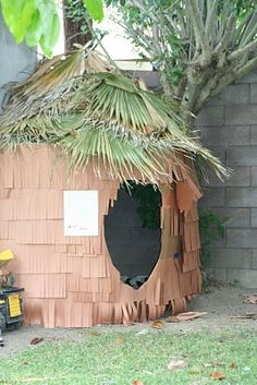 Star Wars Party - An Ewok Hut, A Cardboard Spaceship and a Jedi Obstacle Course