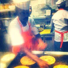 Modern Indian bistro at work. #ZaffronKitchen