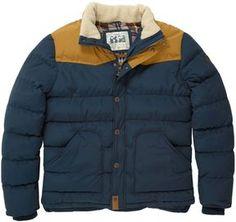 mens jacket borg collar