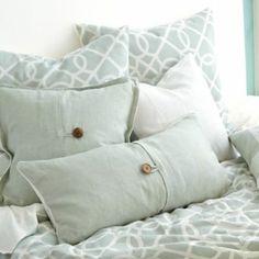 Textured Linen Pillows   Ballard Designs