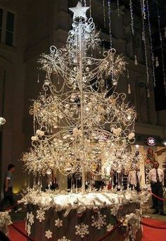 Most expensive: a million-dollar tree made from approx. 21,000 diamonds  (One jeweler in Singapore makes it every year. Apparently, it sells)