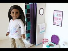 How to Make a Doll Shower - YouTube