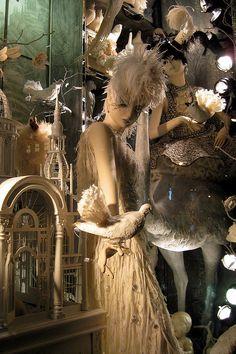 NYC: Bergdorf Goodman's 2008 Holiday window display - Calendar Girls - Spring | Flickr - Photo Sharing!