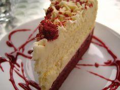 Party | Red velvet cheesecake recipe #dessert