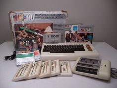 Commodore Vic-20 with box and manuals