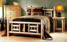 log furniture for home decorating