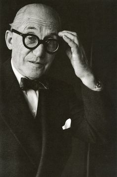 Le Corbusier - 1887-1965. Swiss born architect,designer who was a pioneer of high design in modern architecture. Constructed buildings all over the world. He was dedicated to providing better living conditions for residents of crowded cities.