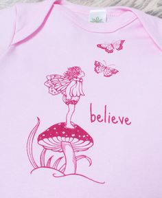 NEW! Believe Bodysuit #fairy #pixie