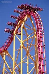 X @ Six Flags Magic Mountain, CA (Now called X2)